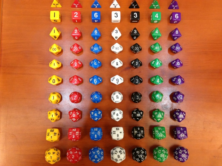 10 Pieces/Bag Acrylic Innovative 4+6+8+10(0-9)+10(1-10)+10(00-90)+12+20+24+30 DND Dice Board Games Life Counting For MGT/DND