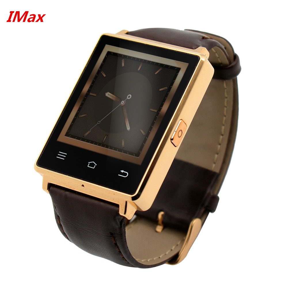 Original D6 Smart Watch 1.63 320x320 Android 5.1 OS 1G+8GB MTK6580 SmartWatch with GPS 3G SIM Wifi Bluetooth Heart Rate pK gv18