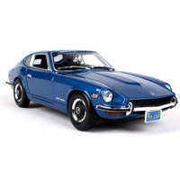 1:18 Collectible Die Cast Car Models Toys for Chldren Static Alloy Auto Vehicle Mobile Sports Car mkd3 Nissan Datsun 240Z 1971