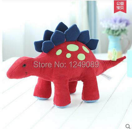 Venta caliente 51 cm Dinosaurio Animal de la Felpa Juguetes Para Bebés de tela de Pana