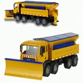 Happy Cherry Winter Service Vehicle 1:50 Miniature Replica Toy Model Snow Truck Van Car toys fpr kids boys children