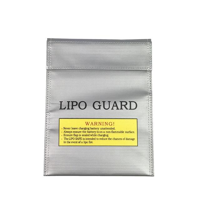 1 шт. огнеупорный RC LiPo аккумулятор защитный мешок безопасная защита зарядка мешок 180X230 мм пульт дистанционного управления сумка в виде игруш...
