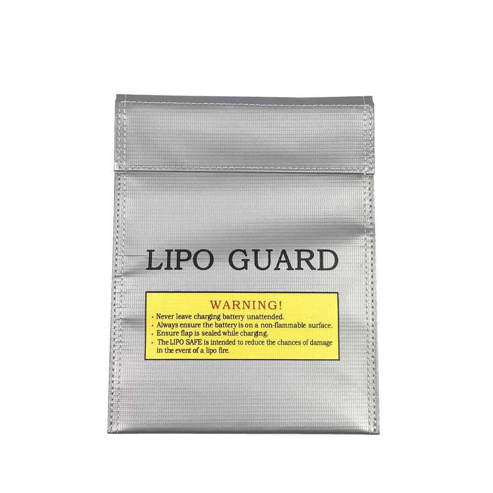 Огнеупорный мешок для аккумулятора LiPo RC 1 шт., безопасный защитный мешок для зарядки 180X230 мм, сумка для игрушек с дистанционным управлением д...