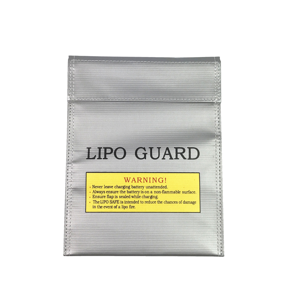 1Pc Fireproof RC LiPo Battery Safety Bag Safe Guard Charge Sack 180 X 230 mm Remote Control Toys Bag for Children