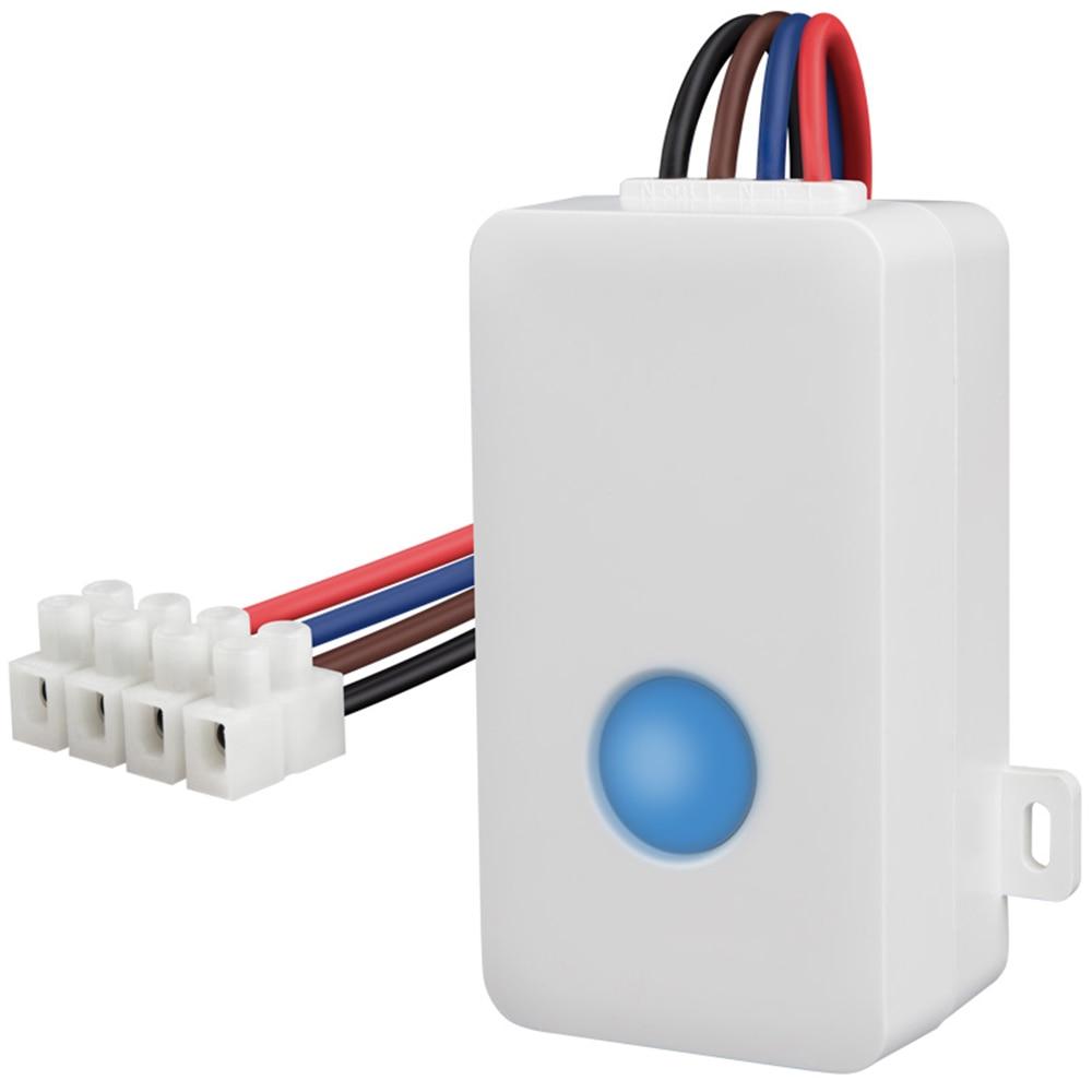 Broadlink SC1 Smart Switch WiFi APP 2.4 GHz Control Box Timing Draadloze Afstandsbediening 2500 W Ondersteuning iOS 7.0/AndroidBroadlink SC1 Smart Switch WiFi APP 2.4 GHz Control Box Timing Draadloze Afstandsbediening 2500 W Ondersteuning iOS 7.0/Android