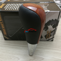 Mahogany Car Automatic Gear Shift Knob Head Replacement For Toyota 4Runner 2006 2007 2008 2009 2010