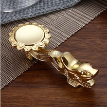 Selling Fashion Metal top Grade silver and gold color Alloy Dragon Chopstick  Holder Rest Gift for friend