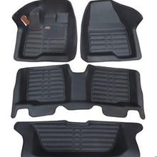 Ковры хорошо! Специальные коврики для Ford Explorer 7 мест Нескользящие водонепроницаемые ковры для Explorer-2011