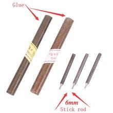 5 шт. палочки или 5 шт. клея, Запасные инструменты для шлифовка нефрита машина драгоценный камень лицевая машина