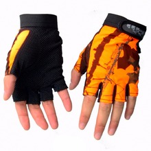 LumiParty Fingerless Gloves Breathable Antiskid Fishing Gloves Outdoor Waterproof Sun Protection Gloves