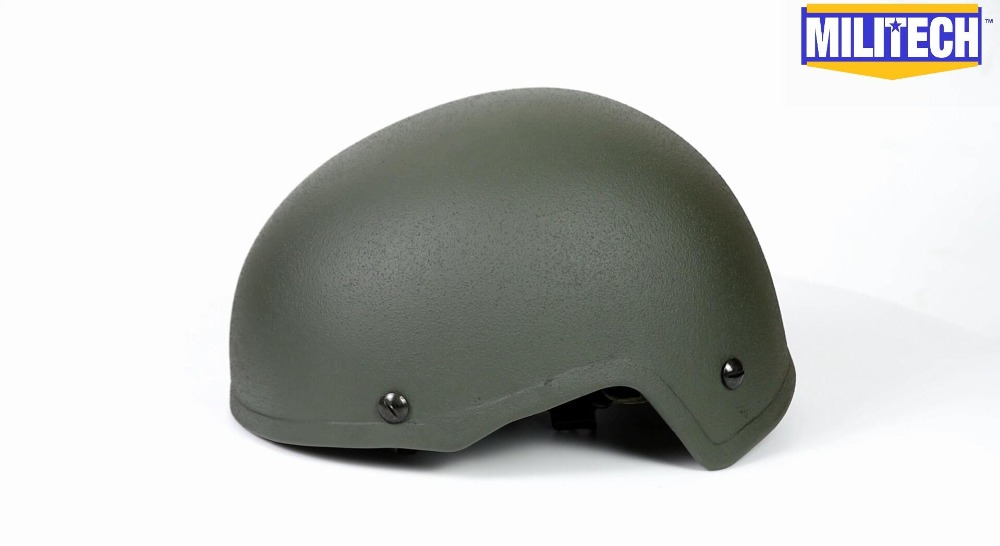Commercial Video--Militech FAST Infantry OD H-Nape Liner High Cut Helmet Commercial Video