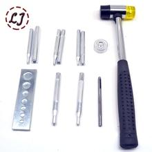 Металлические защелки, пресс-шпильки, кнопки, инструменты для установки, инструмент для рукоделия, ручной инструмент, набор инструментов ручной работы, аксессуары для рукоделия