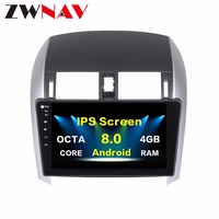 top quality 4GB RAM Android 8.0 Car multimedia player unit for Toyota corolla 2007 2011 Octa Core gps navigation radio no dvd
