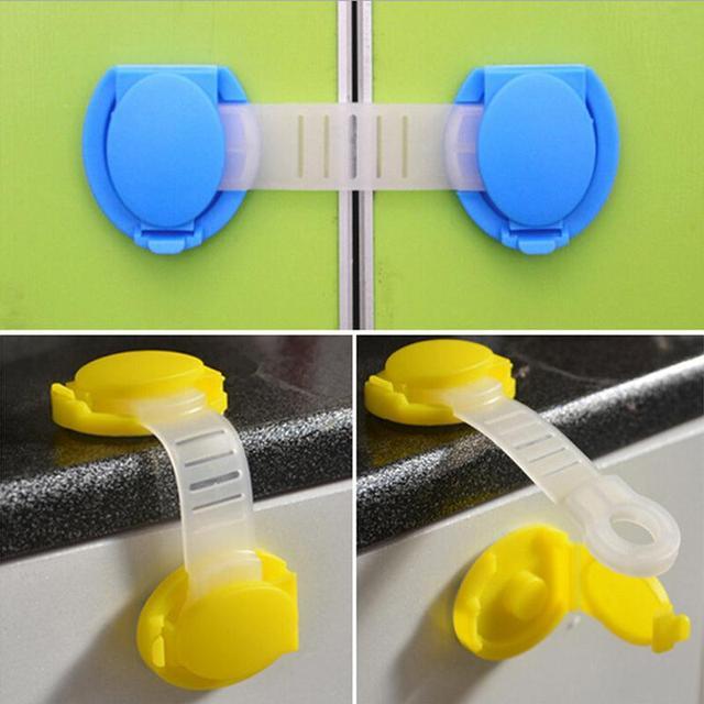 Aliexpress.com : Buy 1 Pc Baby Plastic Cabinet Locks Child Kids ...