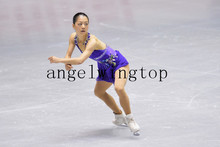 purple figure skating dresses girls for competition skating dress ice free shipping clothes ice skating women