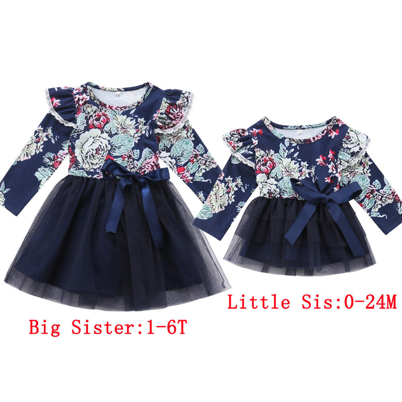 foto de Sweet Little/Big Sister Dress Family Matching Outfits