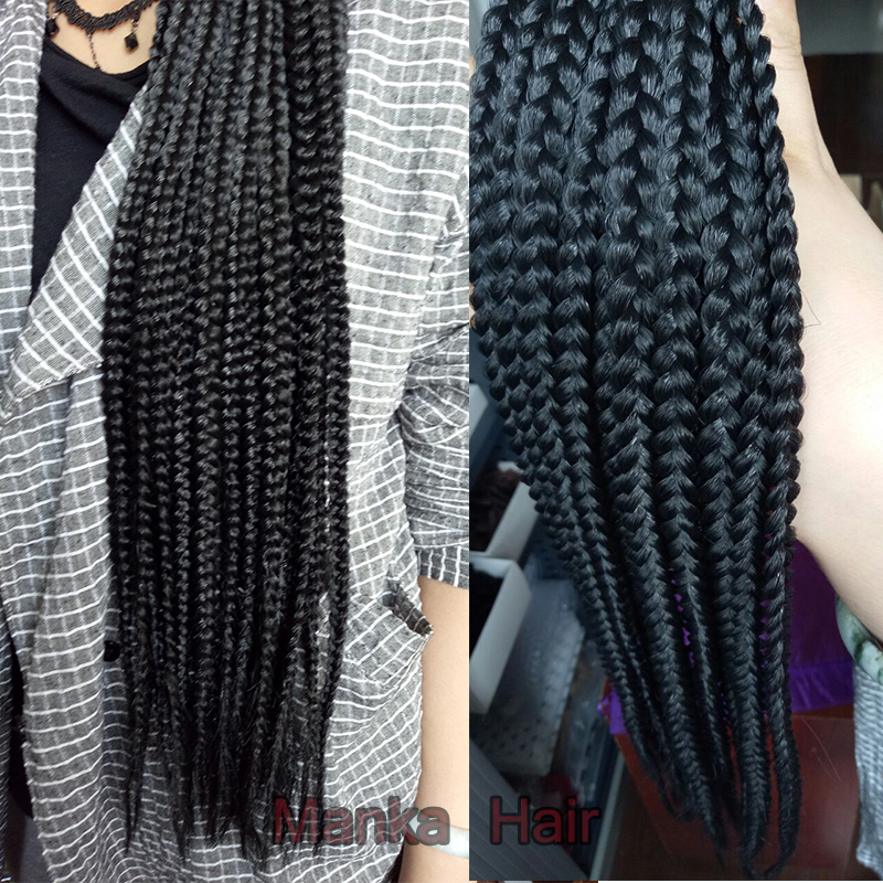 ... braiding hair jumbo braid hair 20pcs for one pack box braid crochet