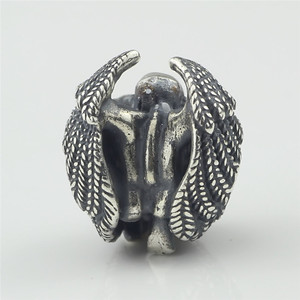 Image 4 - Male Angel 925 Silver Metal Beads Fit For European Charm Bracelet Jewelry Making DIY Jewelry Findings Handmade Bead Charms