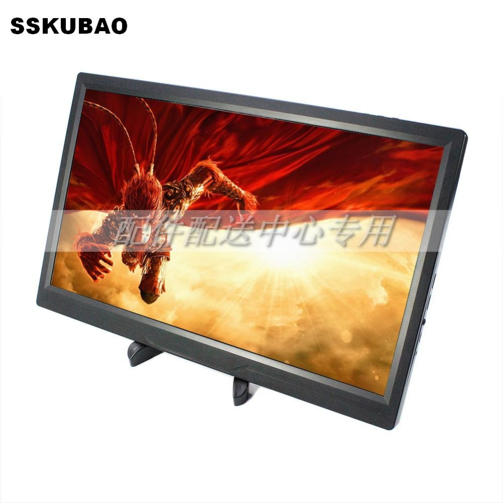 """Slim 15.6"""" Portable Computer HDMI Monitor PC 1920x1080 IPS LED 1080P Panel for PS3 PS4 Xbox360 Raspberry-in LCD Monitors from Computer & Office    1"""