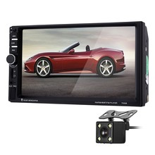 OllyMurs 7060B 7 inch Car Audio Stereo MP5 Player Video Remote Control Rearview Camera GPS Navigation XL-93(China)