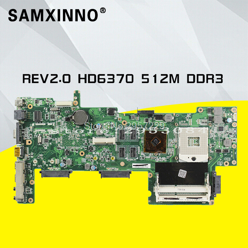 HOT selling K72JU K72JT laptop Motherboard for X72J mainboard HD6370M REV2.0 512M DDR3 216-0774211 fully tested 100% S-6 цена