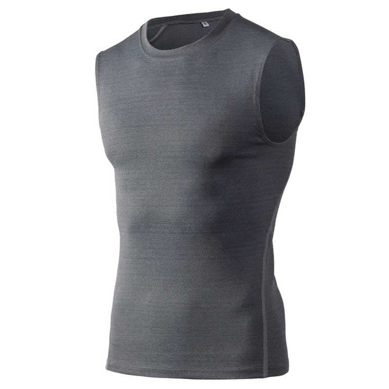 Men Pro Quick Dry Workout Gymming Tank Top Tee Sporting Runs Yogaing Compress Fitness Exercise T-shirts Clothing T Shirt 1002