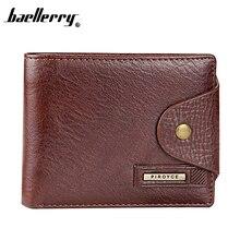 Qualitty портмоне, кошелек, гарантии мужчин, натуральная короткие качества кошелек высокого бренд