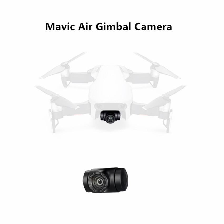 Original Mavic Air Gimbal Camera With Flex Cable & Vibration Absorbing Board for DJI Mavic Air 4k Camera Spare Parts