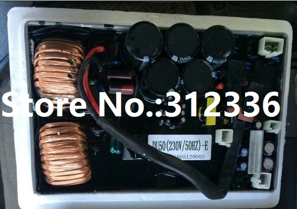 Fast shipping IG6000 AVR DU50 230V/50Hz Inverter generator spare parts Old Model suit kipor Kama Automatic Voltage Regulator плеер sony nw zx300 black