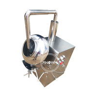 CFR 2kg/time Tablet cashew nuts sugar chocolate coating machine candy pill coater