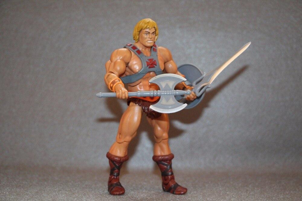 Original maestros del universo clásicos figura: He-Man Loose figura colección