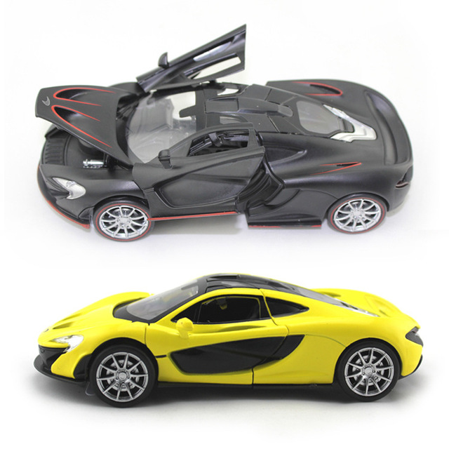 Collectible Car Models 1 32 Mclaren P1 Alloy Cast Model Toy Vehicles Electronic With Light Sound Gift For Kids
