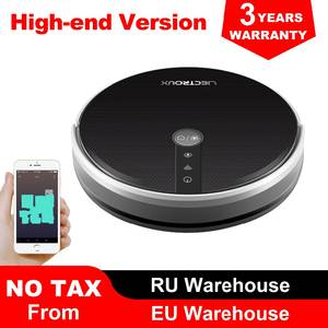 LIECTROUX Robot-Vacuum-Cleaner Navigation Water-Tank Smart Map with Memory-Wifi-App-Control