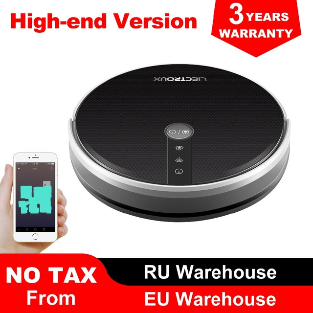 $ US $212.64 LIECTROUX C30B Robot Vacuum Cleaner, Map navigation with Memory,Wifi APP Control,3000pa Suction Power,Smart Electric Water tank,