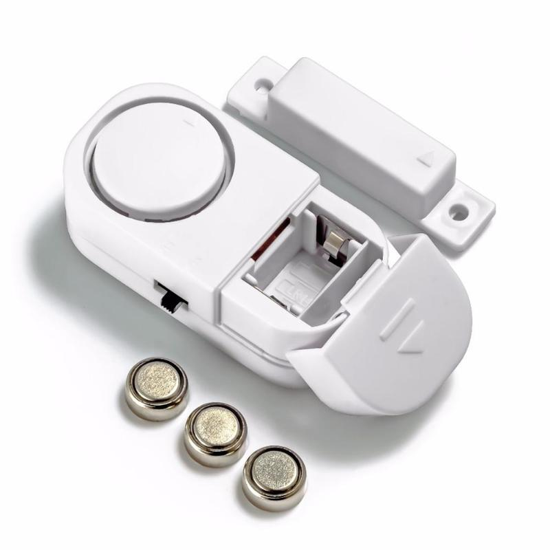 Standalone Magnetic Sensors Independent Wireless Home Door Window Entry Burglar Alarm Security Alarm Guardian Kids Baby Safety