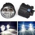 Para NISSAN X-Trail T31 Fechado Off-Road Vehicle 2007-2014 faróis de neblina LED Car styling drl led diurnas lâmpadas 1 CONJUNTO