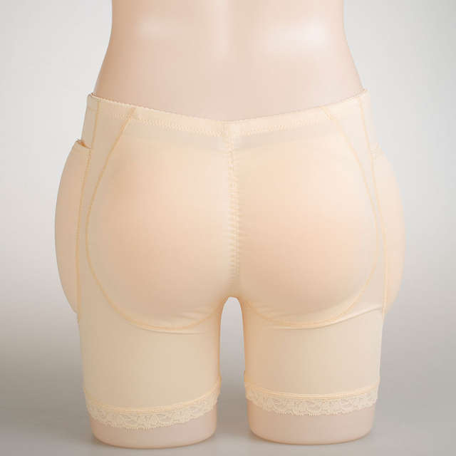9fbb60270 Online Shop Sexy Silicone Butt Pads 4PCS Enhancer Fake Buttocks Padded  Panties Hip Push Up Pockets Panty Underwear False Female Hip Butt