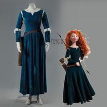 Athemis BRAVE Mei lida princess cosplay costume set in stock
