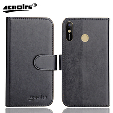 Tecno Spark 3 16+1 Case 6 Colors Dedicated Soft Flip Leather Special Crazy Horse Phone Cover Cases Credit Card Wallet