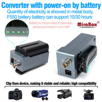 MiraBox HSV190Bat SDI HDMI Battery SDI To HDMI Adapter SD/HD SDI/3G SDI Multimedia 1080p HD Video Converter Portable Mini Size