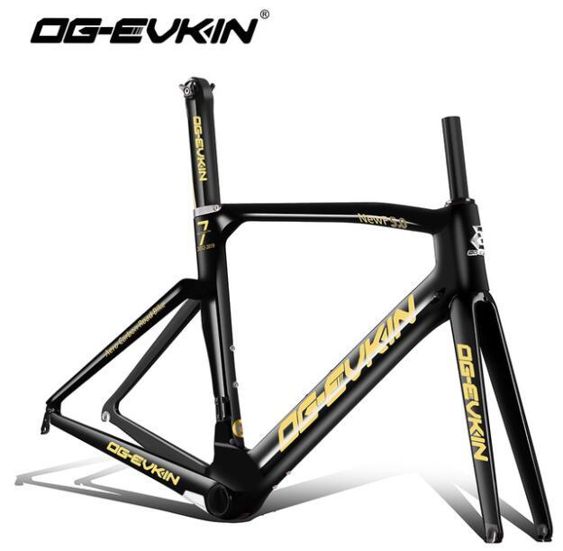 OG-EVKIN T1000 Carbone route cadre UD BB386 vélo Cadres Di2 Mécanicien carbone cadre 48 50 52 54 cm Fourche carbone 2019