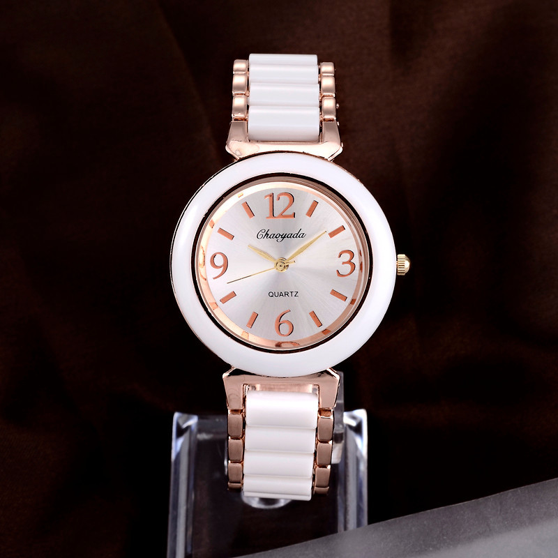 Luxury Rose Gold Watch Women Watches Full Steel Women's Watches Ladies Watch Clock relogio feminino reloj mujer montre femme cuena luxury women s watches women quartz watch relojes reloj mujer montre femme relogio feminino waterproof ladies clock 6624