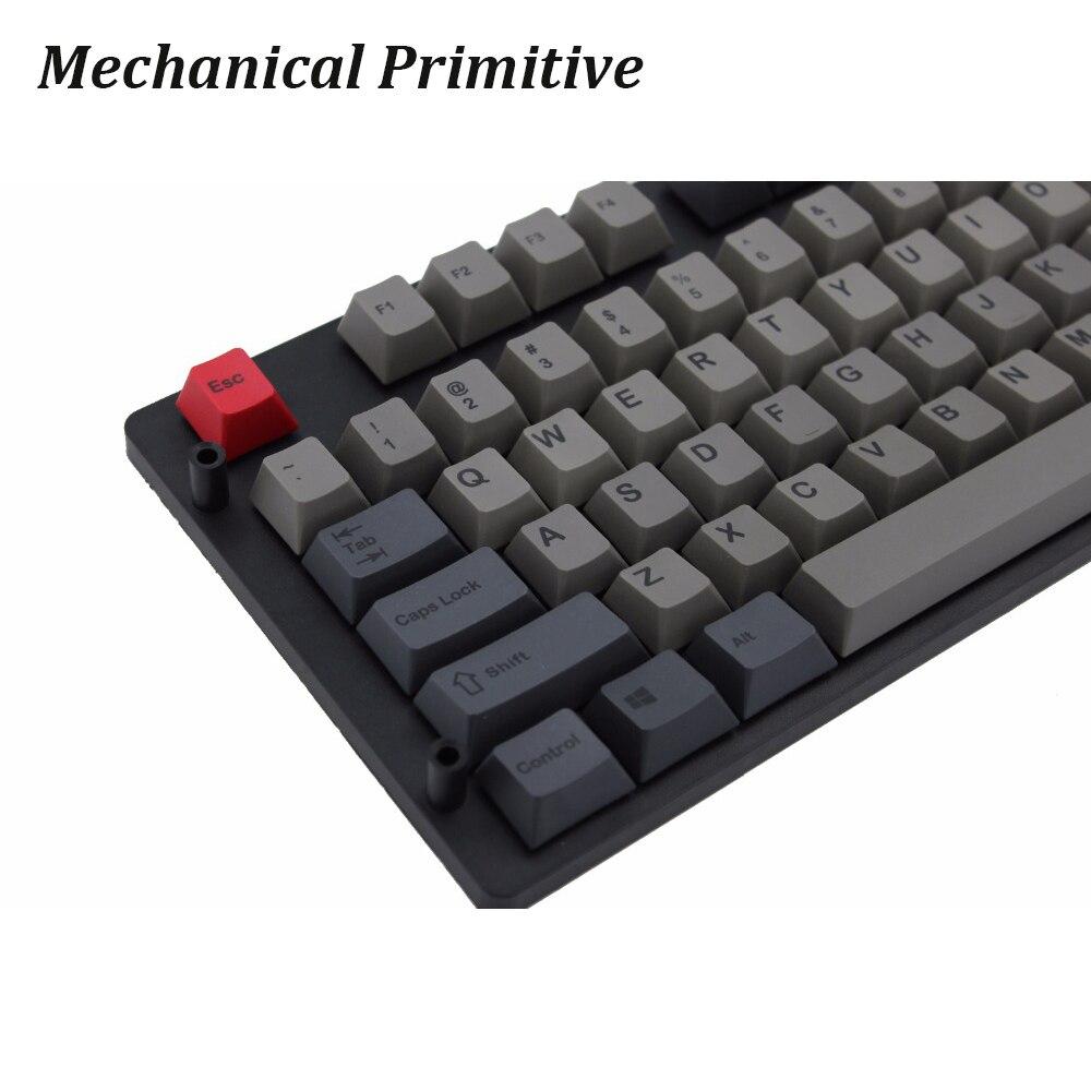 MP 110 Keys Dolor Color Keycap PBT Dye Sublimation keycap Cherry Profile For Mechanical Keyboard