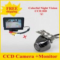 2 1 HD CCD 백업 역전 카메라 + 4.3