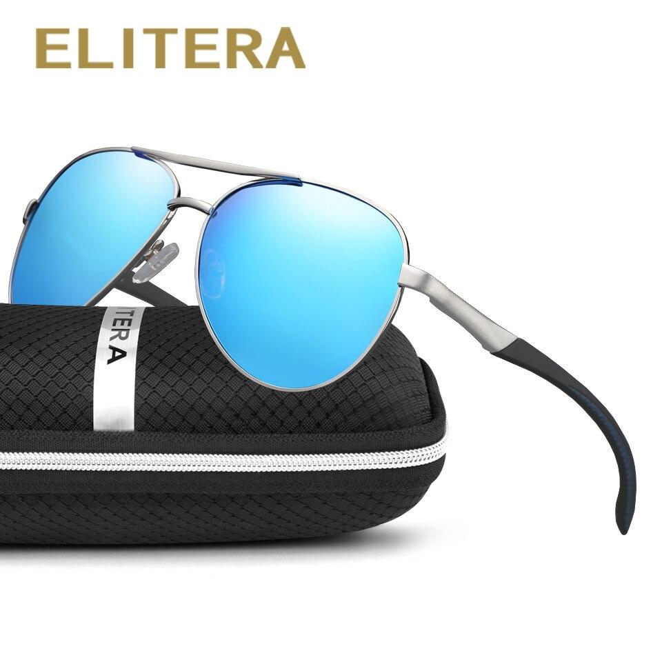 ELITERA Óculos De Sol Dos Homens Polarizados Condução Óculos de Sol Dos Homens Óculos De Sol de Marca Designer de Moda Oculos de sol Masculino