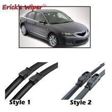 """Стеклоочиститель Erick's LHD передние щетки стеклоочистителя для Mazda 3 BK 2003-2009 лобовое стекло Переднее стекло 2""""+ 19"""""""