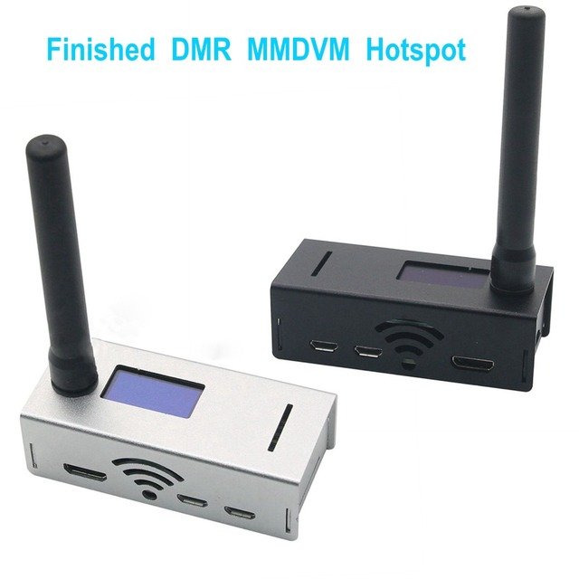 US $96 69 25% OFF|1 Set Finished UHF&VHF MMDVM Hotspot Kit Support P25 DMR  YSF D Star for Raspberry Pi for IP Gateway QSO Pi Star Digital Voice-in