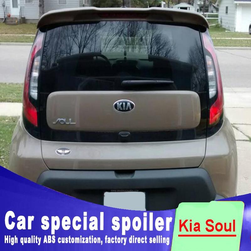 2012 Kia Soul Exterior: 2010 2011 2012 2013 2014 2015 For Kia Soul Spoiler Window