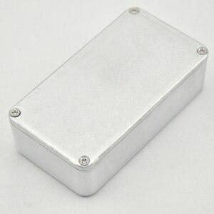 Image 3 - 5PCS/Lot 1590B/ Style Guitar Effects Pedal Aluminum Stomp Box Enclosure for  DIY Guitar Pedal Kit
