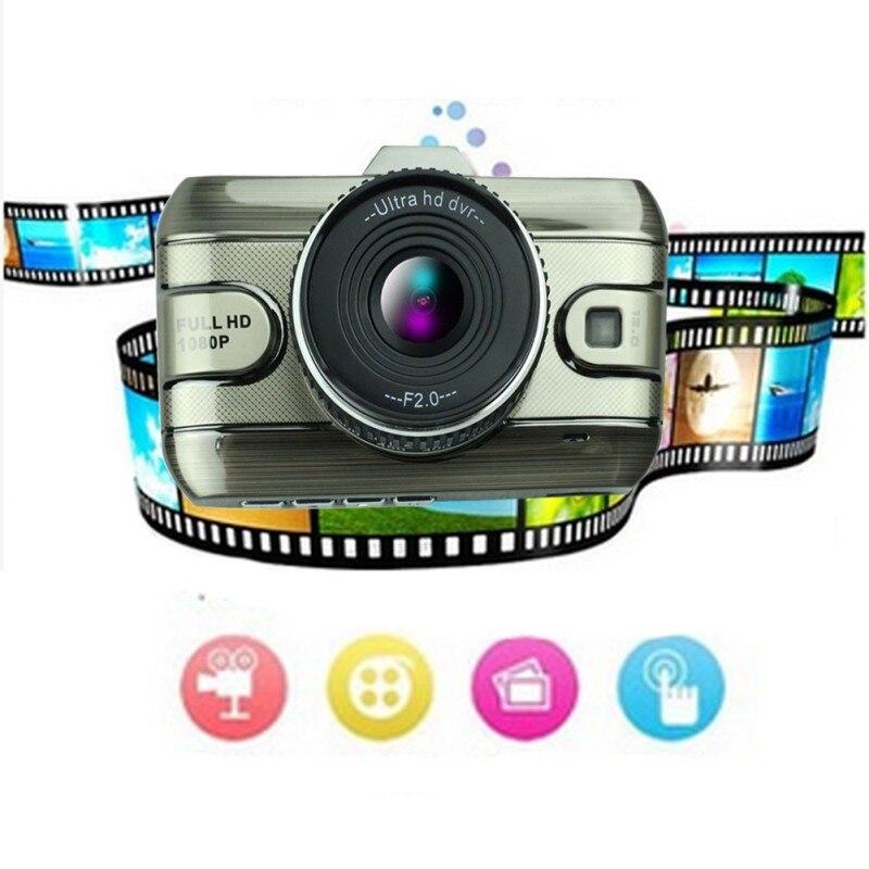 Home 3 inch Dual Lens Car Dvrs Full HD 1080P Car Dvr Video Recorder Car Camera Dash Cam With Rear View Backup Camera New